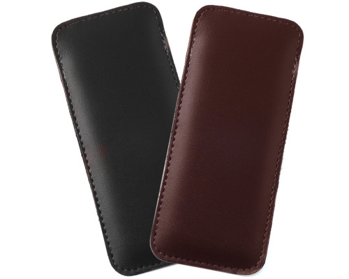Mens Half Slip Soft Eyeglass Case