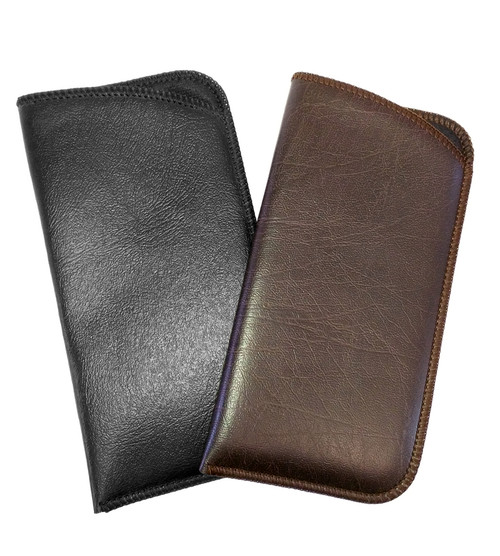 Mens Full Slip Soft Eyeglass Case