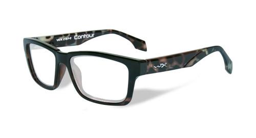 Wiley-X Contour Optical Eyeglass Collection in Gloss-Demi-Black (WSCON06)