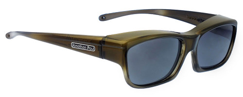 Jonathan Paul® Fitovers Eyewear Kids Extra-Small Choopa in Olive-Charcoal & Gray CH003