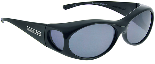 Jonathan Paul® Fitovers Eyewear Small Aurora in Midnite-Oil & Gray AR001