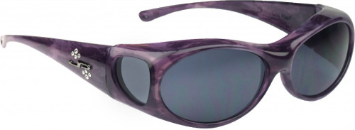 Jonathan Paul® Fitovers Eyewear Small Aurora in Purple-Haze & Gray AR007S