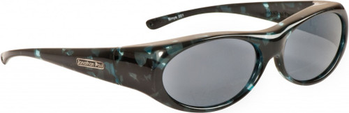 Jonathan Paul® Fitovers Eyewear Small Binya in Blue-Cloud & Gray BN001