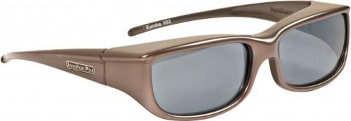 Jonathan Paul® Fitovers Eyewear Small Euroka in Gun-Metal & Gray EU002