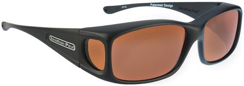Jonathan Paul® Fitovers Eyewear Small Razor in Matte-Black & Roadster RZ001R