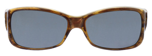 Jonathan Paul® Fitovers Eyewear Medium Dahlia in Tiger-Eye & Gray DL003