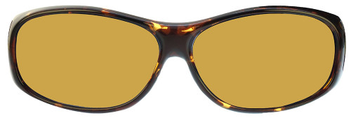 Jonathan Paul® Fitovers Eyewear Medium Element in Tortoise & Yellow EM007Y