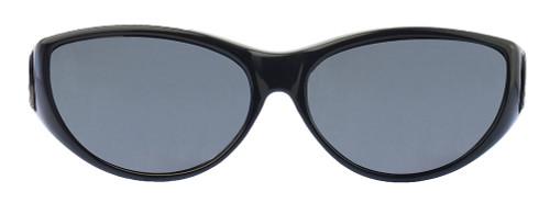 e7c6bd7832cf Jonathan Paul® Fitovers Eyewear Medium Ikara in Midnite-Oil & Gray IK001