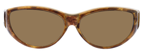 Jonathan Paul® Fitovers Eyewear Medium Ikara in Tiger-Eye & Amber IK003A
