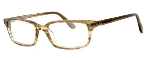 Tortoise & Blonde Designer Eyeglasses Collection Jermyn in Brown Sugar