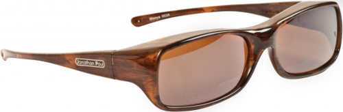 Jonathan Paul® Fitovers Eyewear Large Mooya in Brown-Marbel-Gold & Amber MY003A