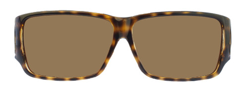 Jonathan Paul® Fitovers Eyewear Large Orion in Cheetah & Amber ON003A