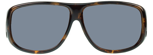 Jonathan Paul® Fitovers Eyewear X-Large Aviator in Tortoise & Gray AV002