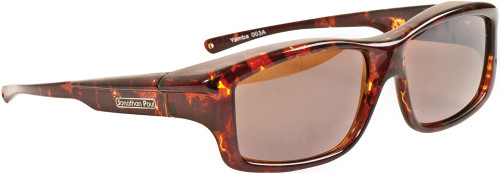 Jonathan Paul® Fitovers Eyewear X-Large Yamba in Dark-Tortoise & Amber YM003A