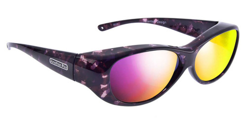 Jonathan Paul® Fitovers Eyewear Medium Kiata in Purple-Rain & Purple Mirror KA001PM