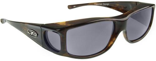 Jonathan Paul® Fitovers Eyewear Large Jett in Brown-Marble & Grey JT002