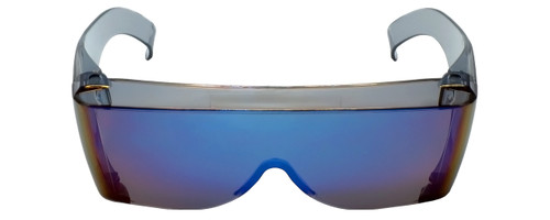 CALABRIA 3000CM Economy Fitover with UV PROTECTION IN BLUE MIRROR