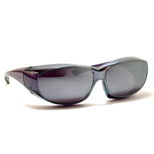 CALABRIA 6000WM Economy Fitover with UV PROTECTION IN SILVER MIRROR