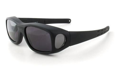 Matte Black & Gray Lens