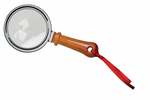 Handheld Magnifying Glass Fresnel Bookmark MG03