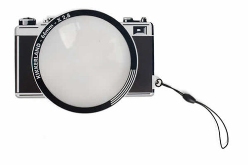 Handheld Magnifying Glass Fresnel Camera Bookmark Magnifier