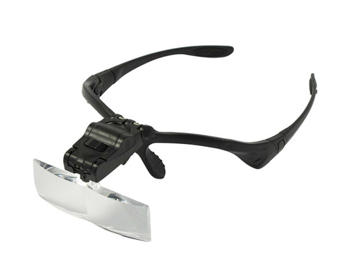 SE MH1051LC Illuminated Interchangeable Magnification Head Magnifier