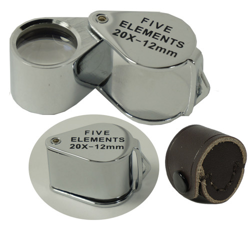 Professional Quality Four Elements Quadruplet Jewelers Loupe