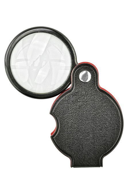 5X Folding Pocket Magnifier w/ Vinyl Pouch