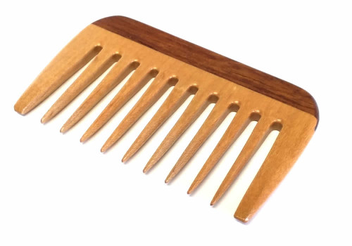 Speert Handmade Wooden Beard Comb #DB03R 4 Inches