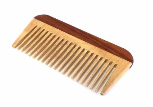 Speert Handmade Wooden Beard Comb #DC02R 4 Inches