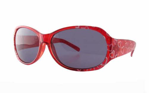 Calabria Kids Designer Sunglasses 6731AF in Red
