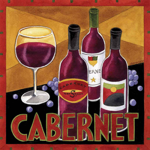 Cabernet Wine Artwork 240-25a-3 Micro Fiber Cleaning Cloth