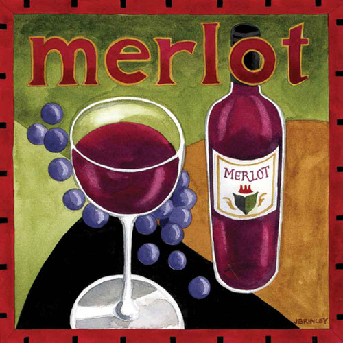 Merlot Wine Artwork 240-25a-4 Micro Fiber Cleaning Cloth