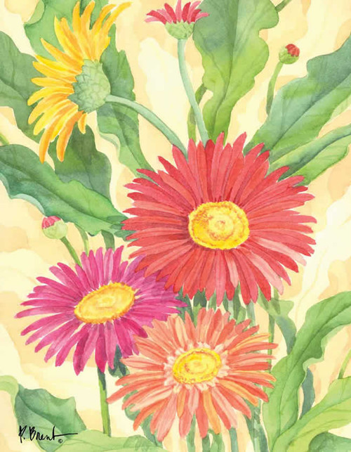 Flowers Artwork 240-10c-1 Micro Fiber Cleaning Cloth