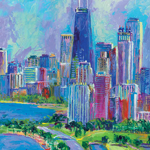 Landscapes Theme Cities 240-11c-5 Artwork Micro Fiber Cleaning Cloth
