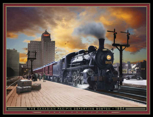 Train Themed 240-32-3 Artwork Micro Fiber Cleaning Cloth