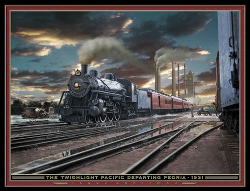 Train Themed 240-32-5 Artwork Micro Fiber Cleaning Cloth