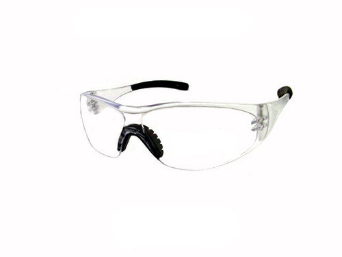 Sport Safety Glasses Z87 Safety Rated in Clear STS-100-1