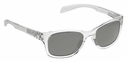 Native Eyewear Polarized Sunglasses Highline in Crystal & Grey