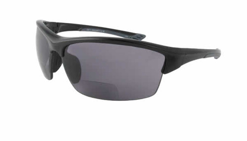 Calabria Sport 202BF Bi-Focal Safety Glasses UV Protection in Black