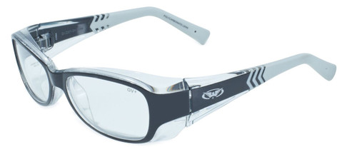 Global Vision Eyewear RX Safety Series RX-E in Black