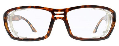 Global Vision Eyewear Full Lens RX Safety Series RX-I in Demi