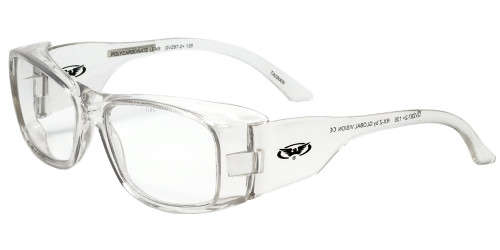 Global Vision Eyewear Full Lens RX Safety Series RX-Z in Clear
