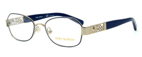 Tory Burch TY1043 Designer Reading Glasses in Blue-Gold (3058)