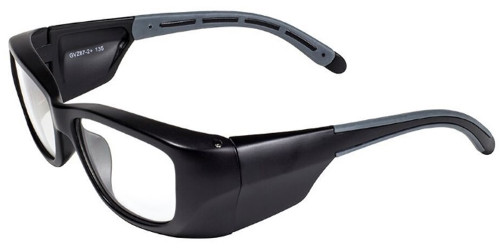 Global Vision Eyewear Full Lens RX Safety Series Y27EOP01 in Black