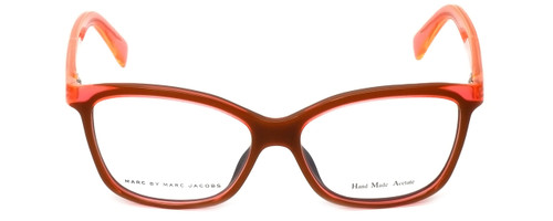 Marc Jacobs Designer Eyeglasses MMJ614-0MGP in Black-Orange 54mm :: Rx Single Vision