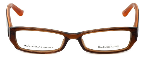 Marc Jacobs Designer Eyeglasses MMJ471-0QI4 in Brown-Orange  51mm :: Progressive