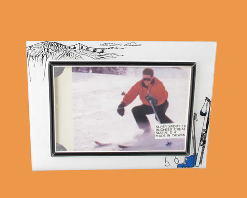 Speert Sports Photo Frame Skiing Theme (Horizontal)