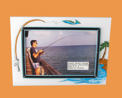 Speert Sports Photo Frame Fishing Theme (Horizontal)