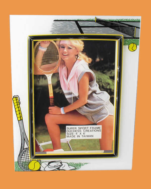 Speert Sports Photo Frame Tennis Theme (Vertical)